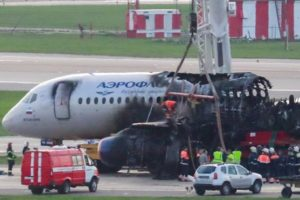 Aeroflot flight fire