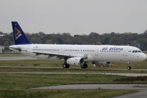 Air Astana aircraft Airbus A321
