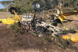 Air Tractor 301 crashed