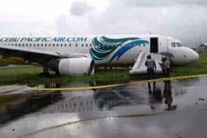 Airbus A320 runway excursion