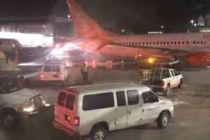 Boeing 737 fire accident