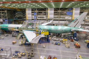 Boeing assembled the first test 777X