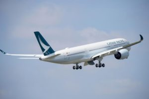 Cathay Pacific aircraft Airbus A350