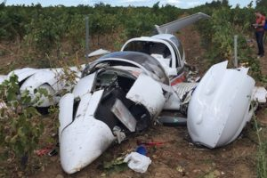 Diamond DA42 Twin Star crash