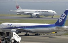 Japanese airlines canceled at least 586 flights due to typhoon Talim