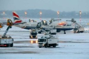 Snow airports