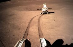 The Chinese Probe Yutu-2 Crosses the Virgin Territory of the Hidden Side of the Moon [Photos]