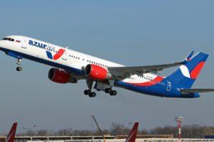 AZUR Air plane