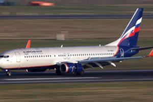 Aeroflot aircraft Boeing 737