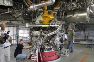 Aerojet Rocketdyne engine