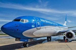 Aerolineas Argentinas cancelled flights