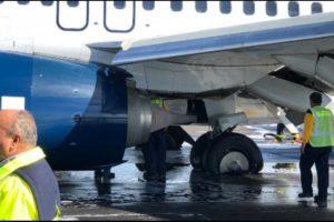 Aeromexico Boeing 737 rutured tire