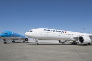 Air France-KLM planes