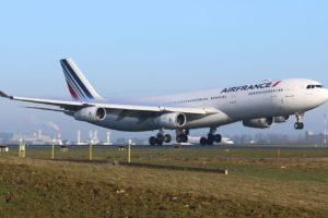 Air France plane Airbus A340