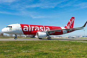 Airbus A320 of AirAsia India