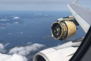 Airbus A380 engine failure