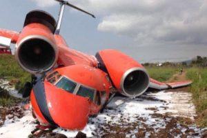 Antonov 74TK-100 overran runway