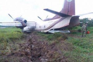 Antonov AN-32B damage