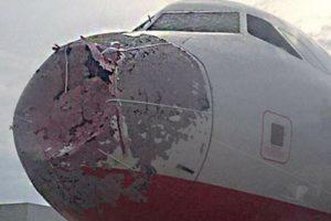 Atlas Global plane damage