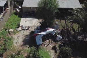Beechcraft D50 Twin Bonanza crash