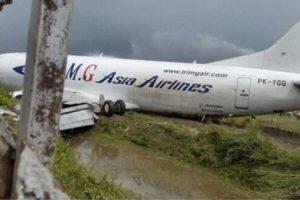 Boeing 737-300SF Tri-MG damage