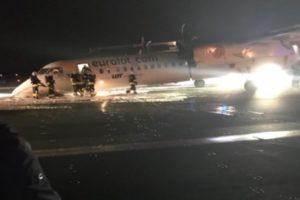 Bombardier LOT emergency stop
