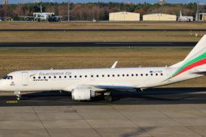 Bulgaria Air Embraer ERJ-190STD