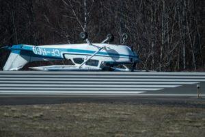 Cessna 172 flipped Bellingham