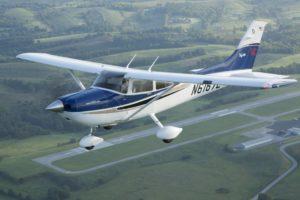 Cessna 182 Skylane crashed