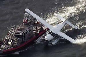 Cessna 208 Caravan emergency landed