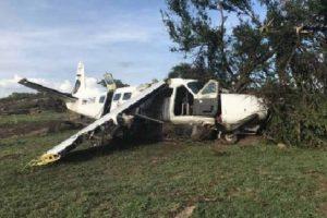 Cessna 208B Grand Caravan damaged