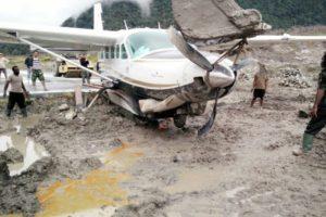 Cessna 208B Grand Caravan runway excursion
