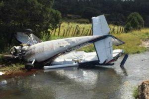 Cessna 210-5 crash
