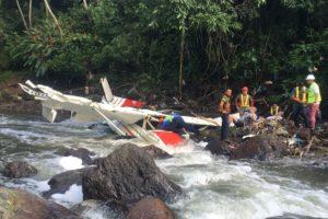 Cessna U206G Stationair crash