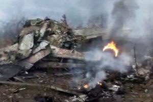 Chinese airforce crash