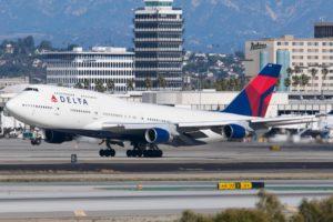 Delta Airline Boeing 747-400