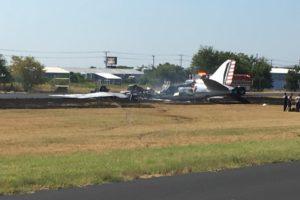 Douglas C-47 burned out