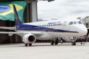 Embraer 190 aircraft