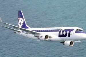 Embraer E175 aircraft