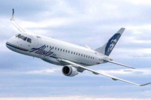 Embraer E175 plane