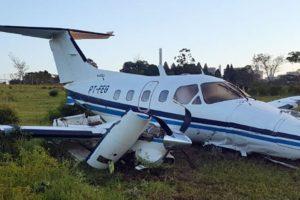 Embraer EMB-121A1 Xingu II crashl
