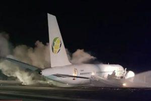 Fly Jamaica Boeing 757-23N