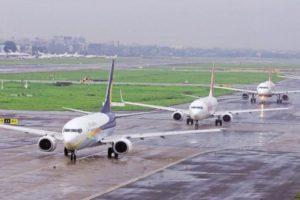 Global passenger air traffic