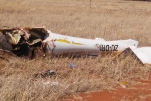 Jabiru J450 crashed