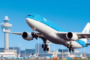 KLM takeoff