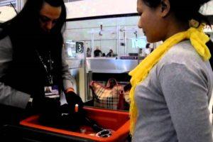 London airport security guard