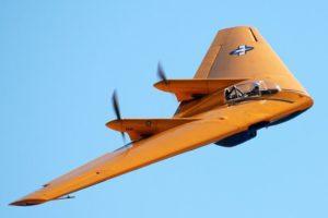 Northrop N9M aircraft crashed