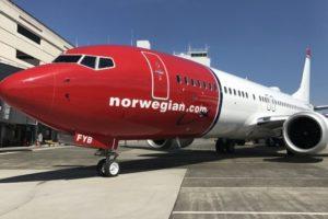 Norwegian Air Boeing 737