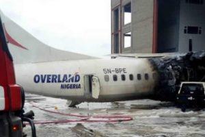 Overland Airways plane ATR 72