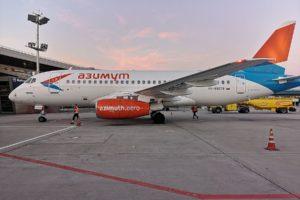 Russian airline Azimut